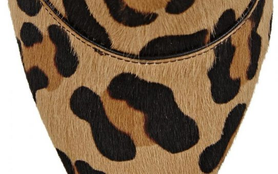 Casadei | Natural Leopard-print Calf Hair And Leather Ankle Boots | Lyst