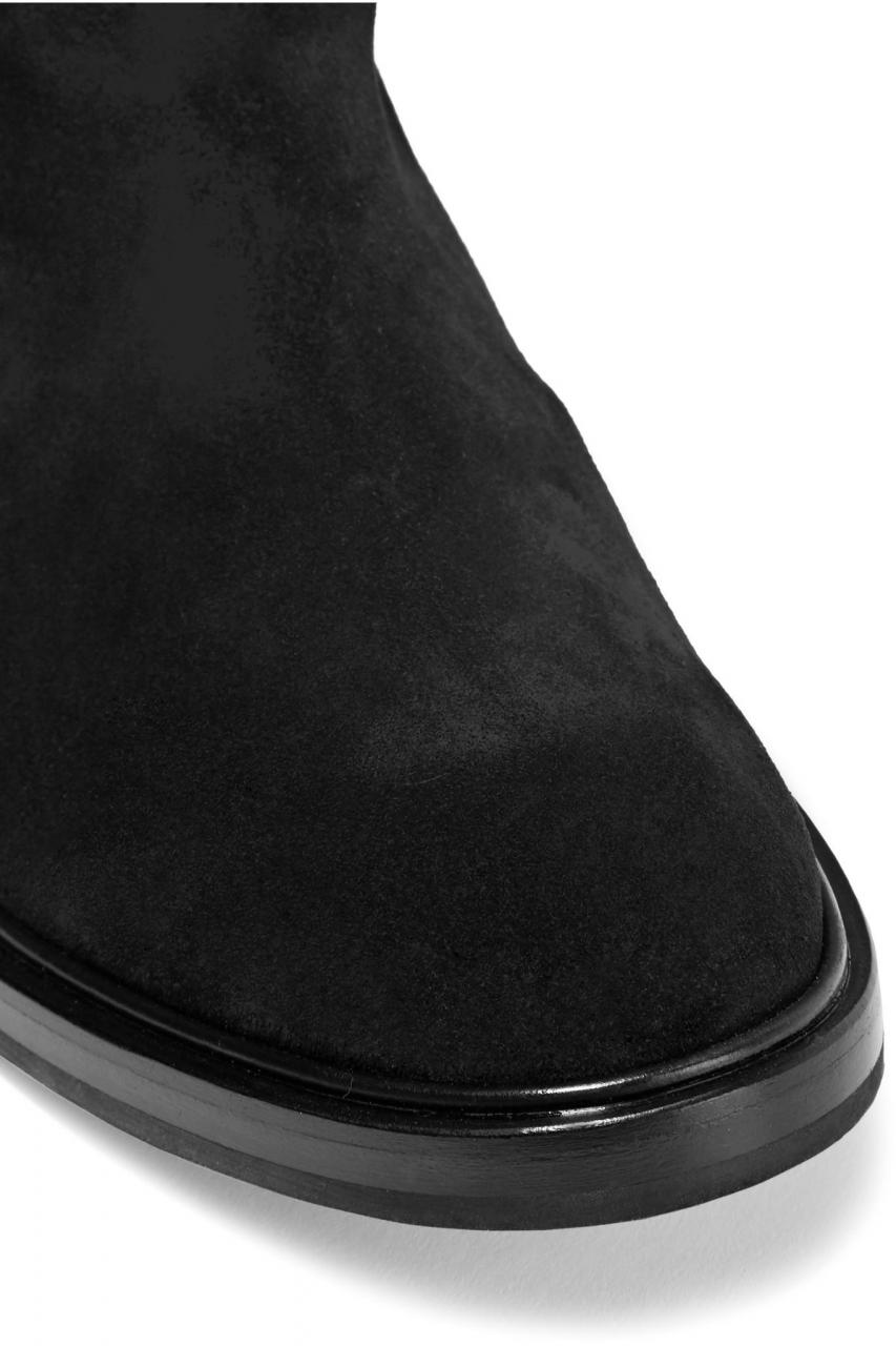 Casadei | Black Suede Boots | Lyst