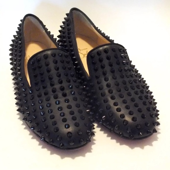 Christian Louboutin Shoes - Christian Louboutin Spike Dandelion Loafers Sz 40