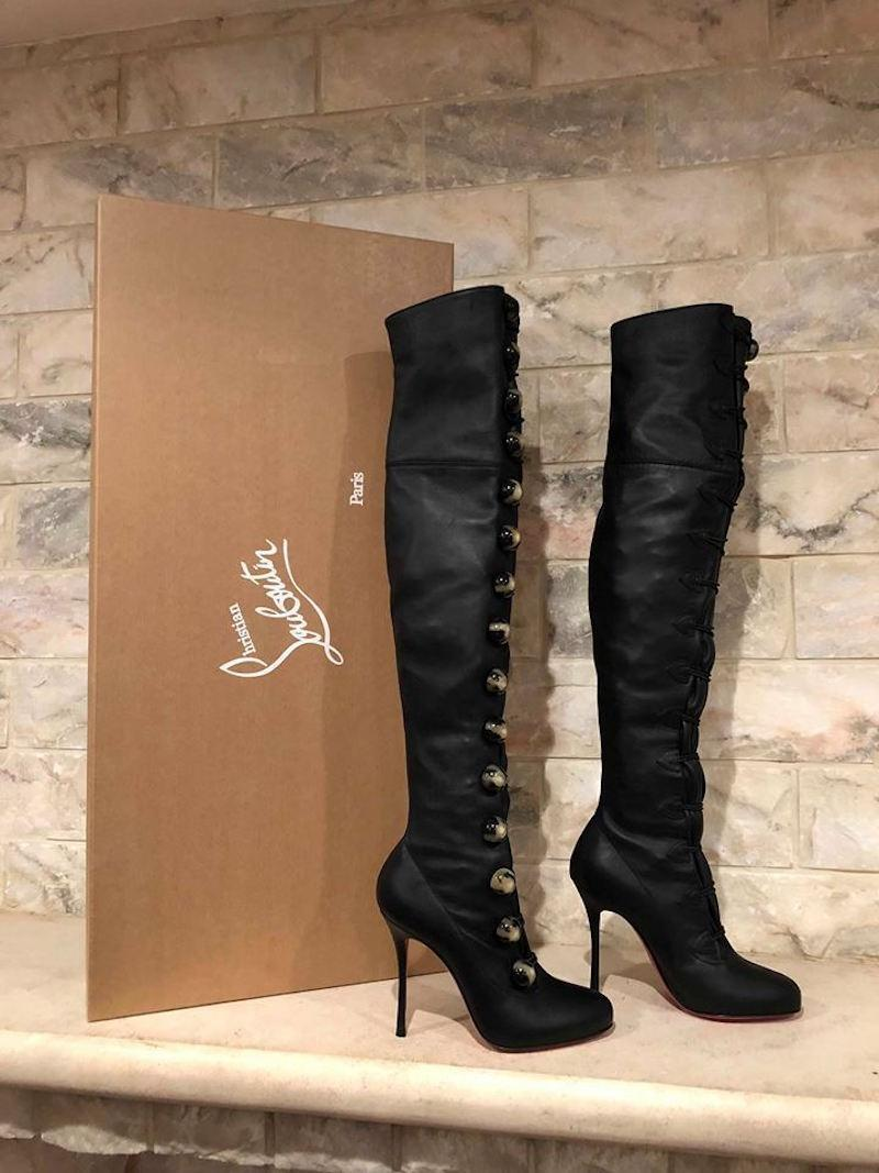c41bf8a5a6ca christian-louboutin-black-fabiola-100-leather-thigh-high-knee-heel -bootsbooties-size-eu-36-approx-us-22945625-1-0