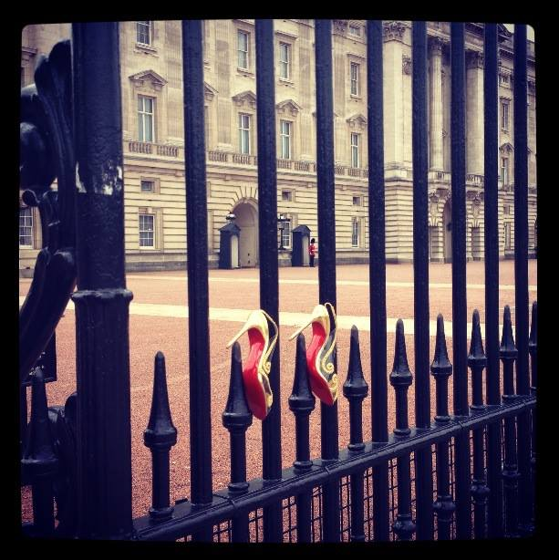 Red Soles at Buckingham Palace
